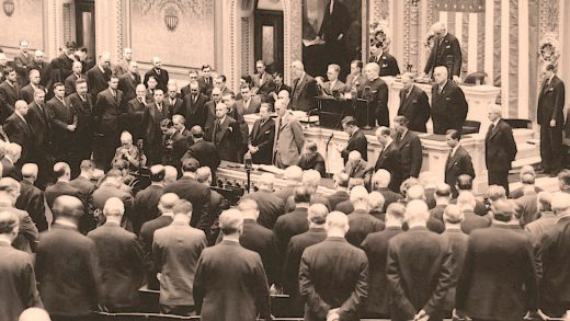 Opening of the 74th Congress - Janury 3, 1936
