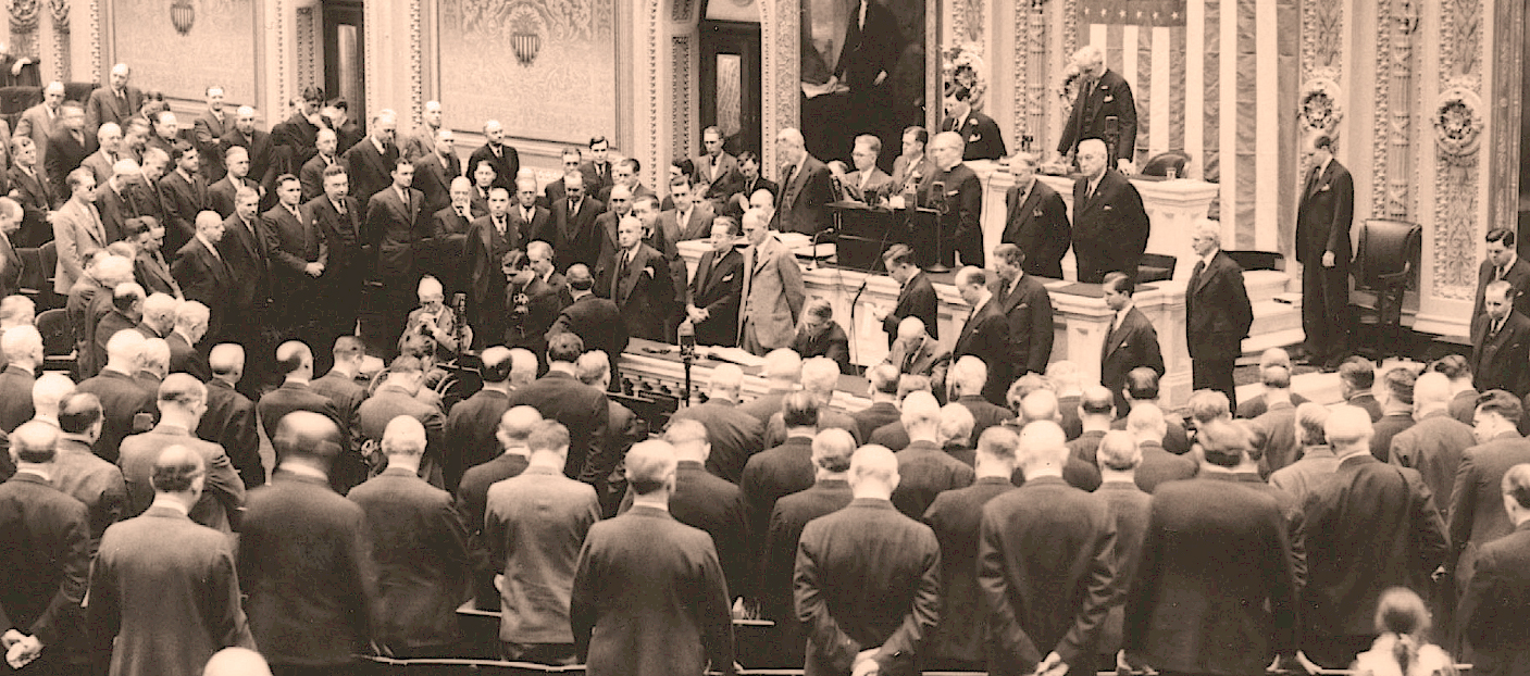 January 3, 1936 – Opening Day Of Congress – Capitol Hill In The Days Of The New Deal.