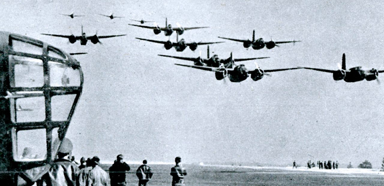 American Bombers enroute to Batavia - January 1942