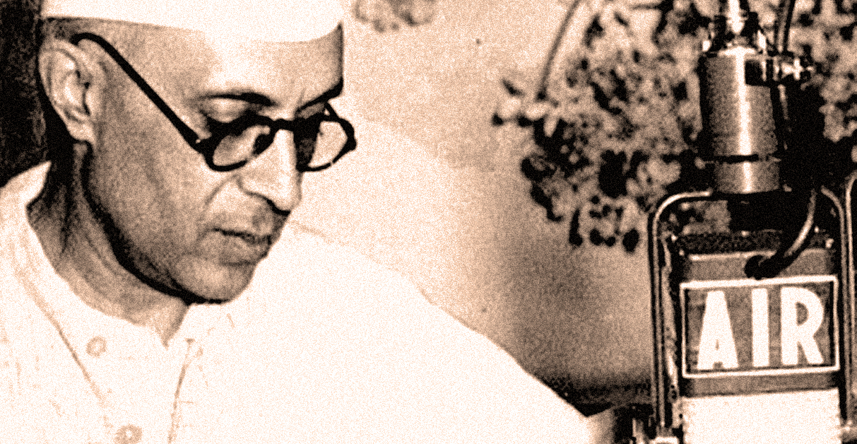 January 30, 1948 – Nehru Announces The Death Of Gandhi – Past Daily Reference Room