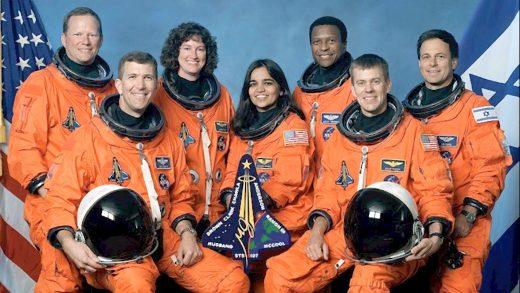 Shuttle Columbia crew