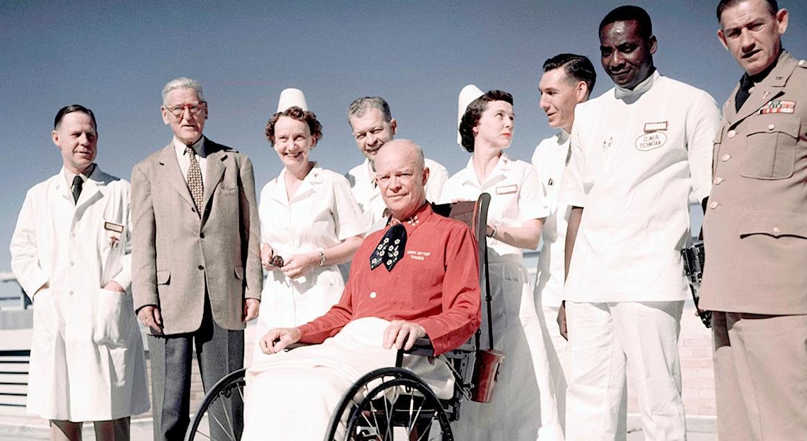 February 12, 1956 – America's Little Cardiac Problem – A President's Heart Attack.