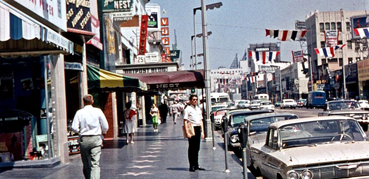 Hollywood Boulevard - 1968