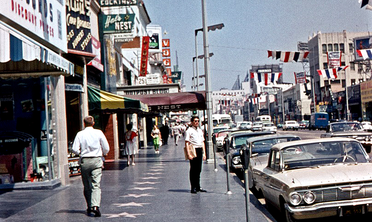 Hollywood Boulevard - 1968