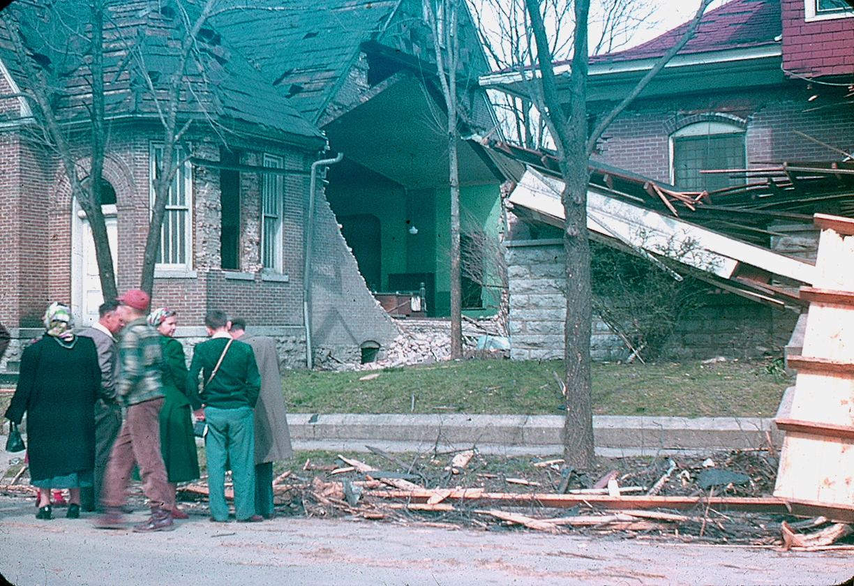 Fayetteville - Tornado Aftermath - March 23, 1952