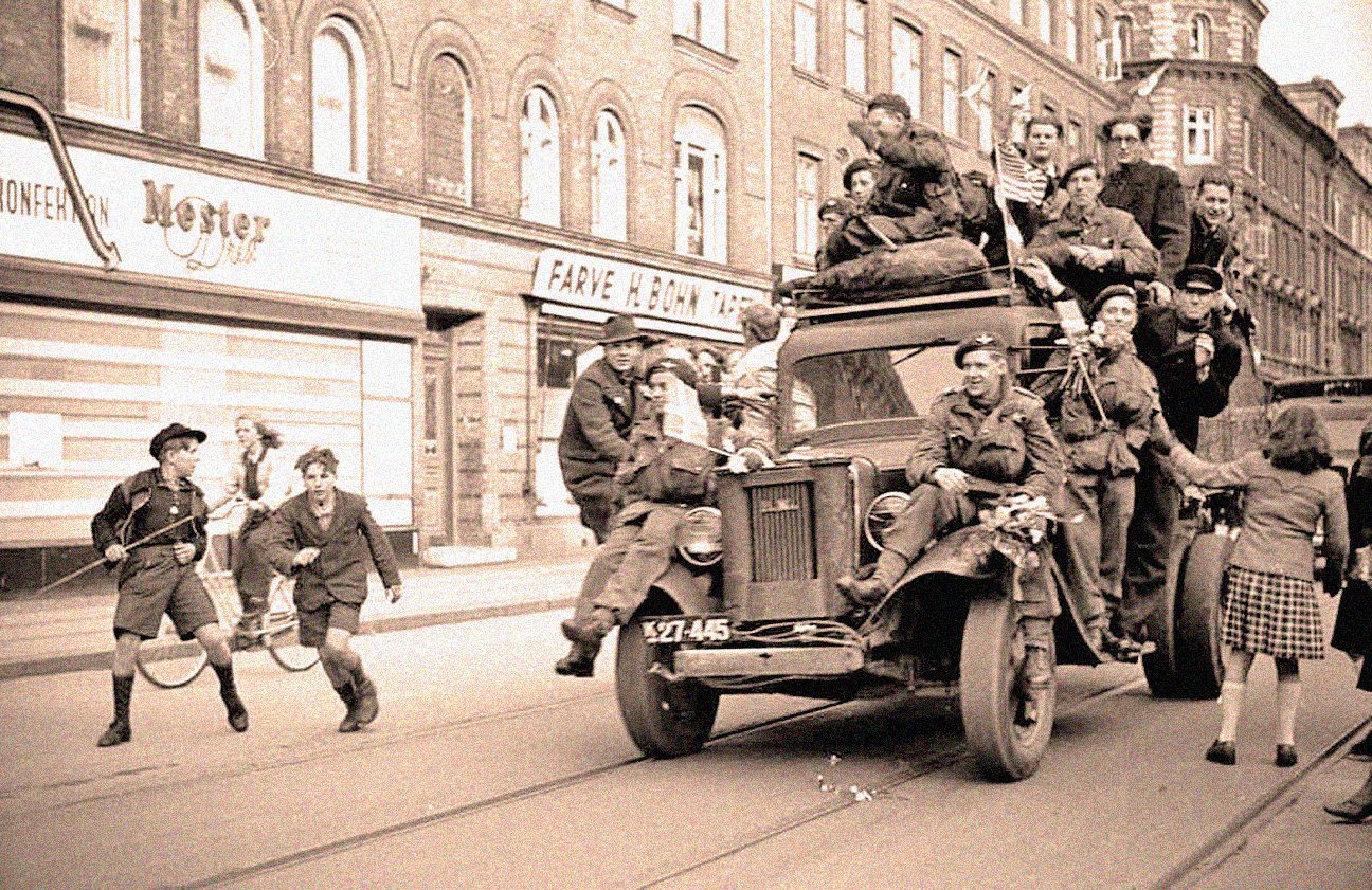 Ahead of VE Day - Norway was the latest - but certainly not the last.