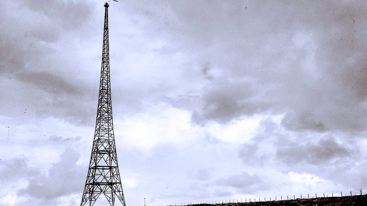 Transmitter Tower - 1938