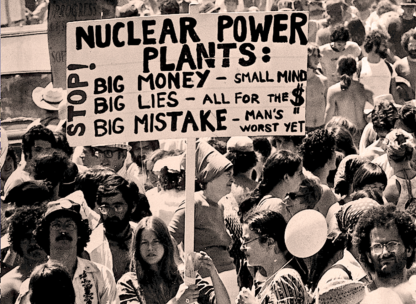 Demonstration at Seabrook - 1978