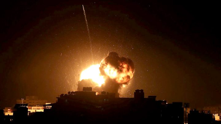 Israeli Raids over Beirut - 1981
