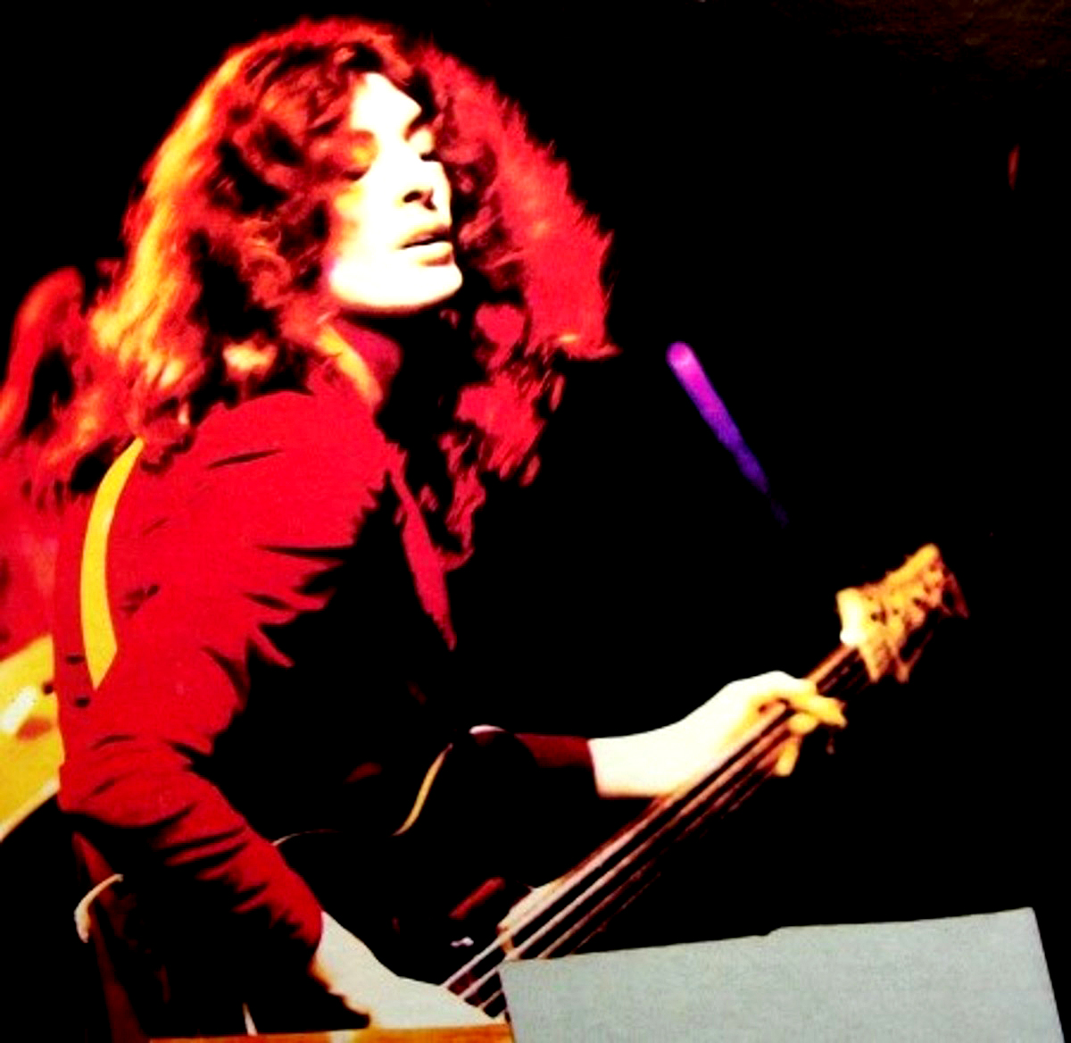 Dave Foster of Badger - in concert 1973