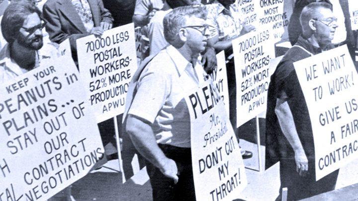 Postal Strike - 1978 (photo: Washington Spark)