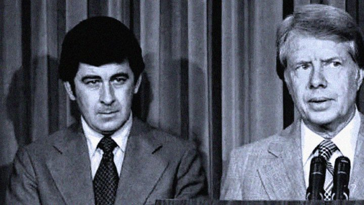 Dr. Peter Bourne and Jimmy Carter - White House