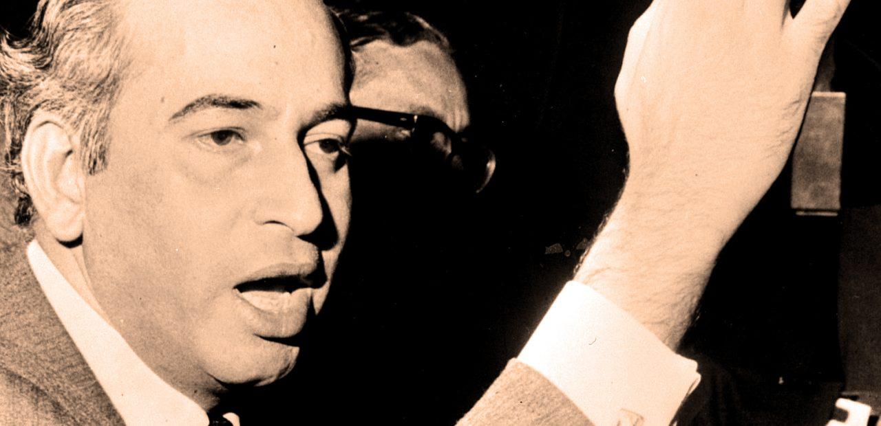 Zulfikar Ali Bhutto - return from exile
