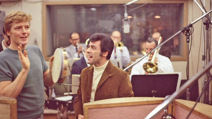 Frankie Valli with Bob Crewe In Session