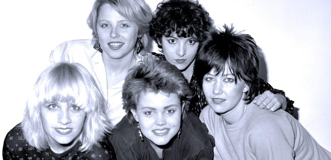 The Go-Go's - live in Boston - 1981