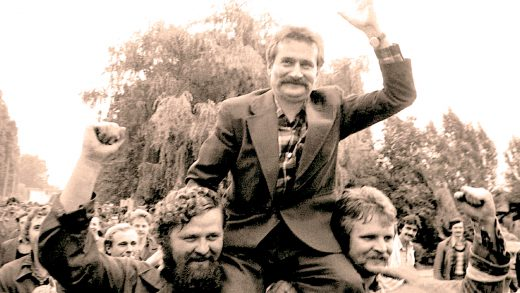 Lech Walesa - Solidarity in Warsaw - 1980