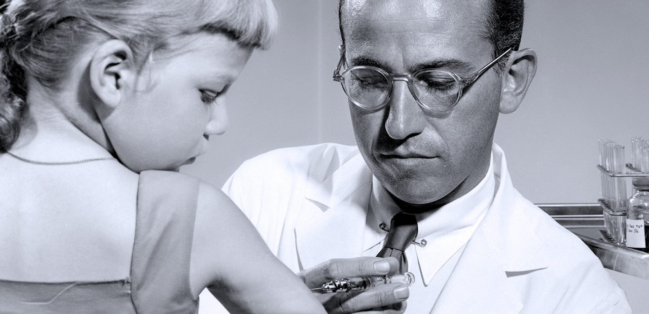 Jonas Salk - Polio Vaccine