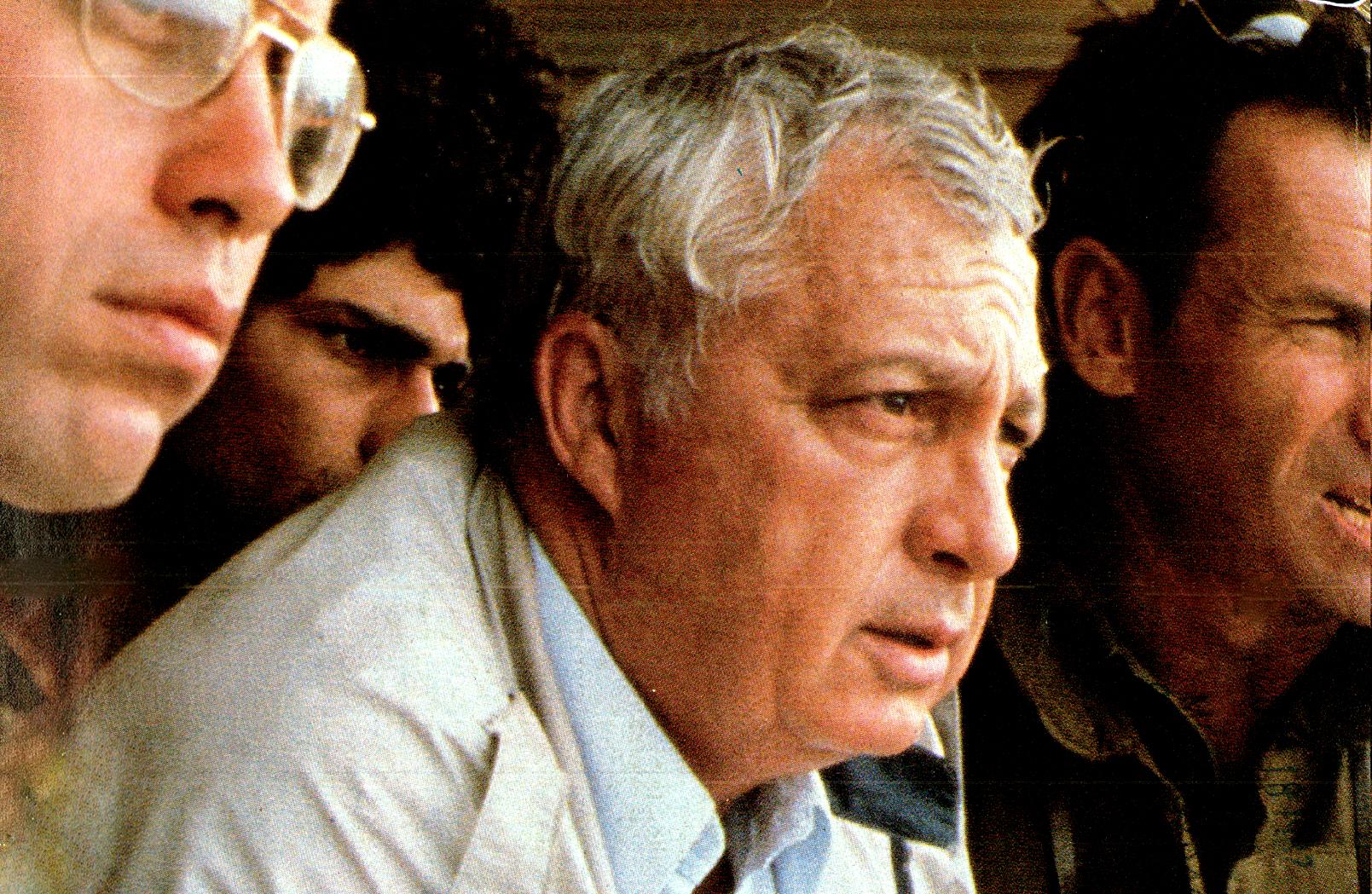 Ariel Sharon - Lebanon Situation - September 1982