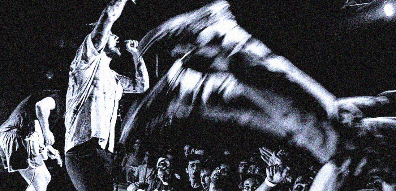 Idles in concert - Le Cabaret Vert - 2018 (photo: Noise Floor Photography)