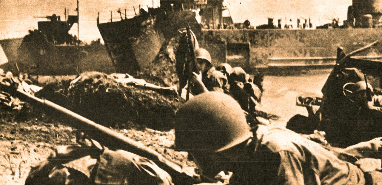 Marines land on Pelelieu - September 15
