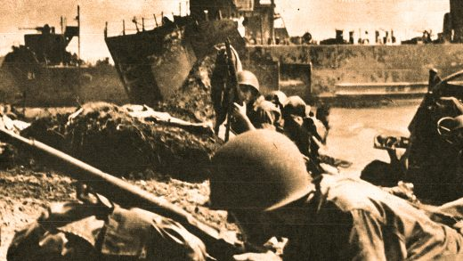 Marines land on Pelelieu - September 15