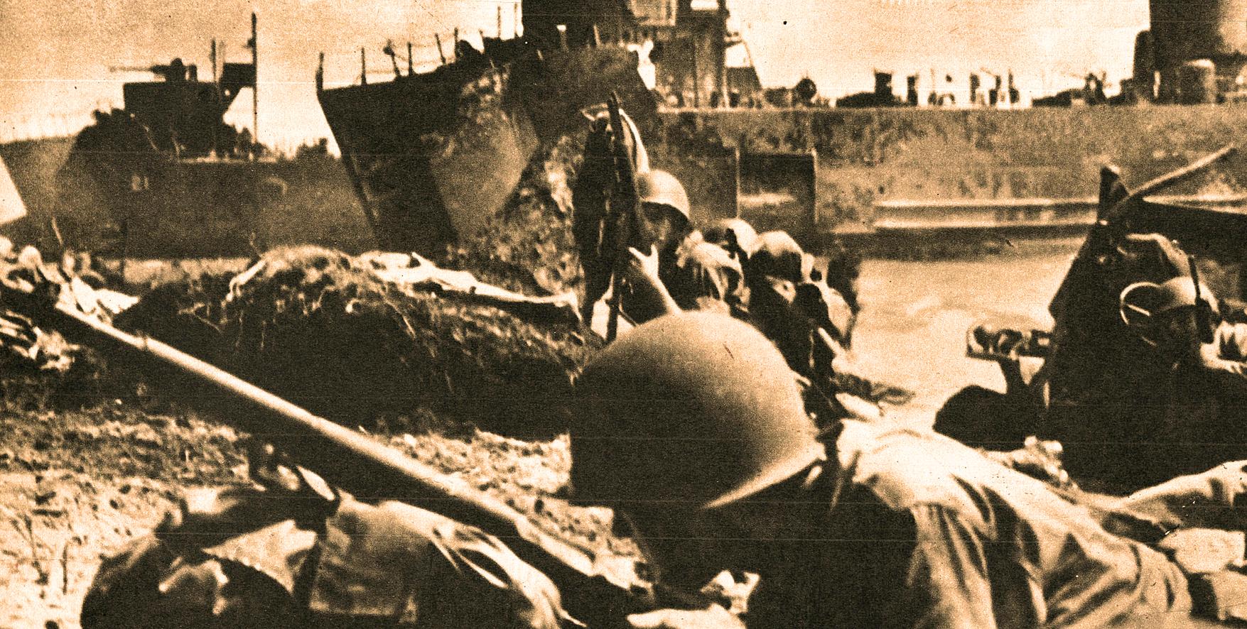 September 15, 1944 – Marines Land On Peleliu – Allies Reach The Siegfried Line – A Hurricane Leaves A Calling Card