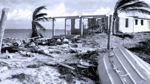 Hurricane Gilbert hits Jamaica