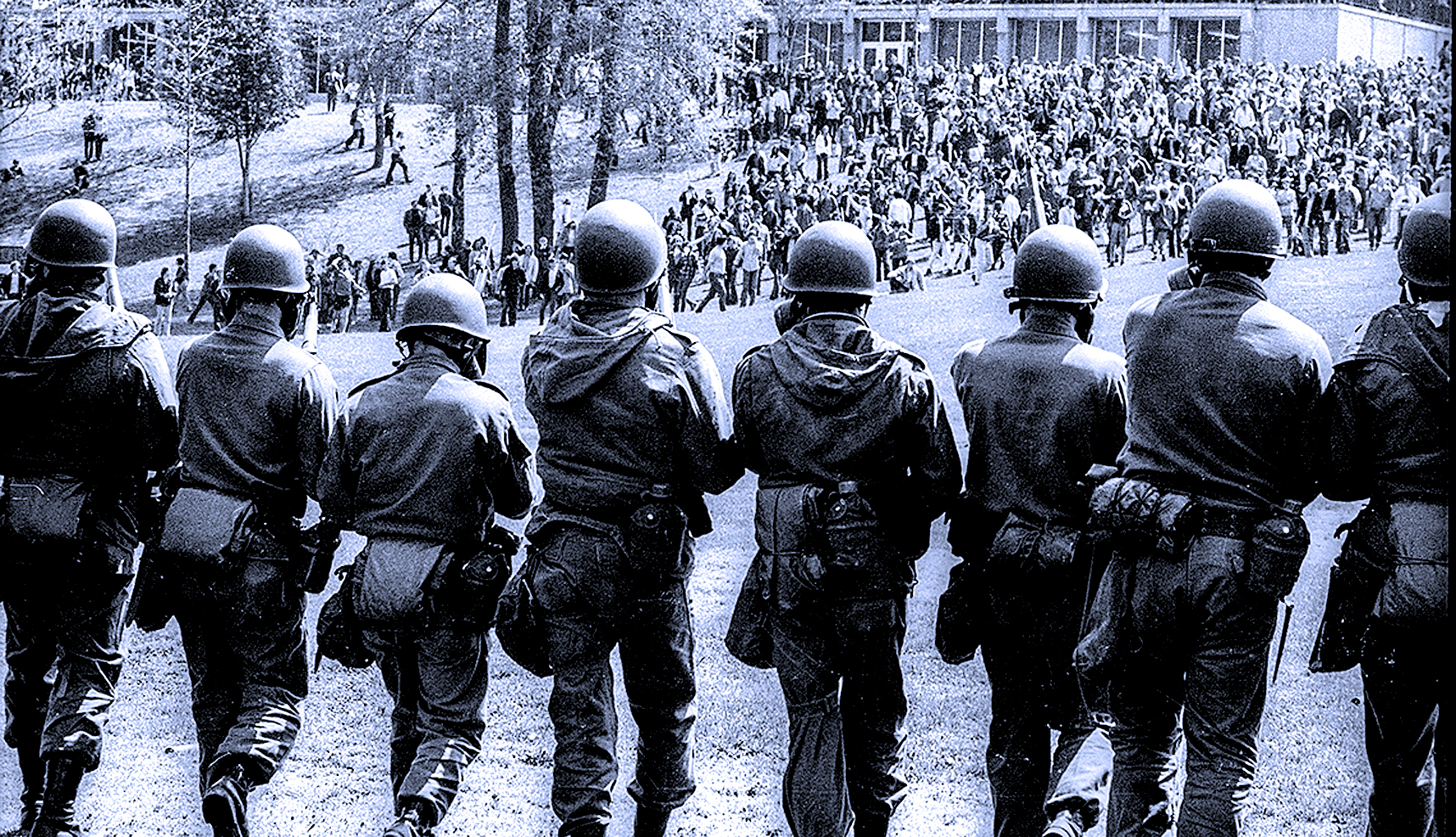 Kent State Protests- National Guard - 1970