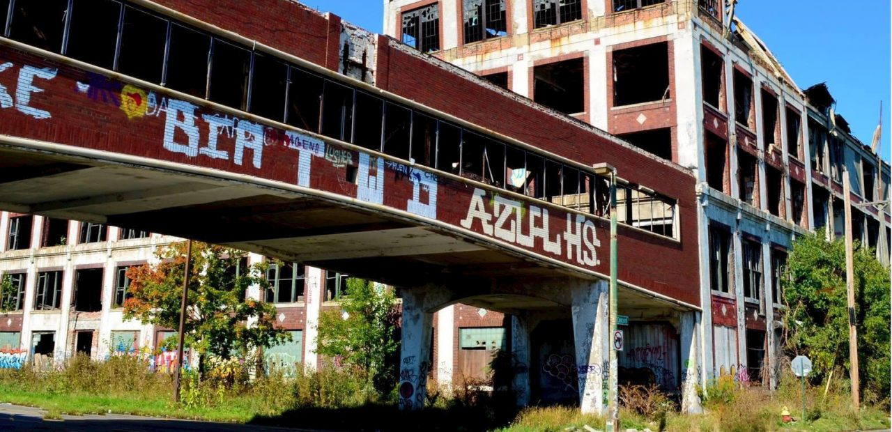 Cities In Crisis - Abandoned Packard Plant - Detroit