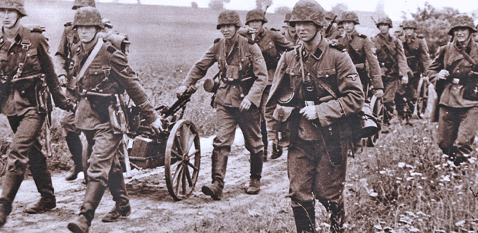 German Troops on the Offensive