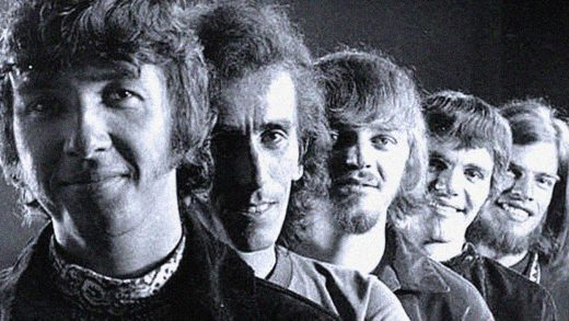 The Collectors - in session at The CBC Vancouver - 1969