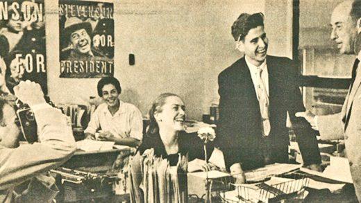 Adlai Stevenson - Campaiging - 1956