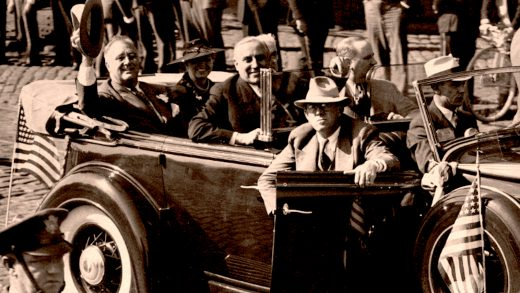 FDR Returns to Washington