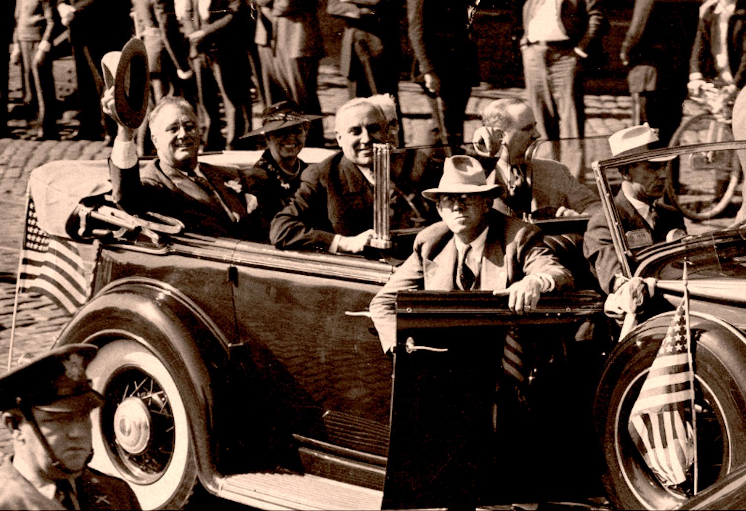 November 6, 1936 – FDR Returns To Washington – Election '36 –