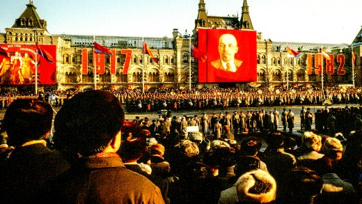 Funeral for Brezhnev - 1982