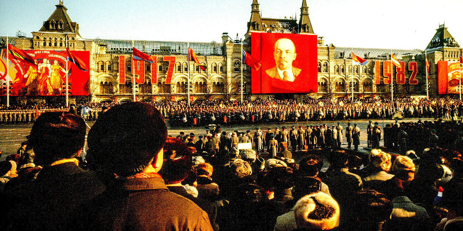 November 15, 1982 – The View From Red Square – Funeral For Brezhnev