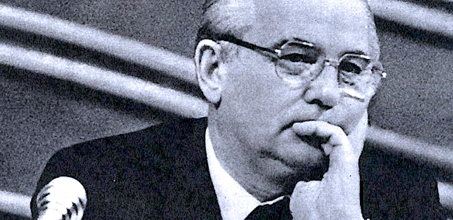 Mikhail Gorbachev at the Kremlin- 1990