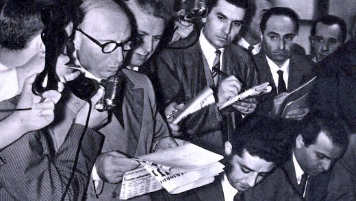 European Press Conference - 1950s