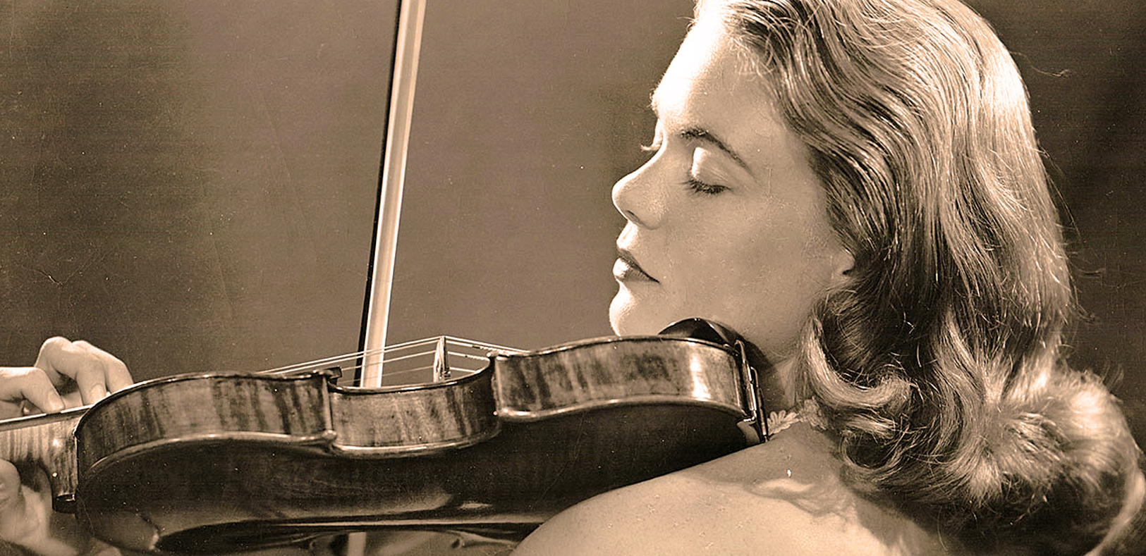 Camilla Wicks With Leopold Stokowski And The L.A. Phil. – Hollywood Bowl – 1946 – Past Daily Weekend Gramophone.