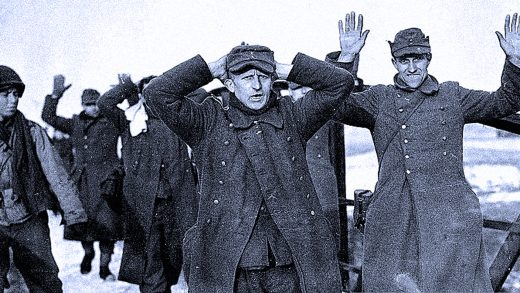 German Prisoners - Bastogne Area