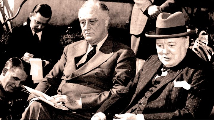 FDR - Churchill - Casablanca Conference
