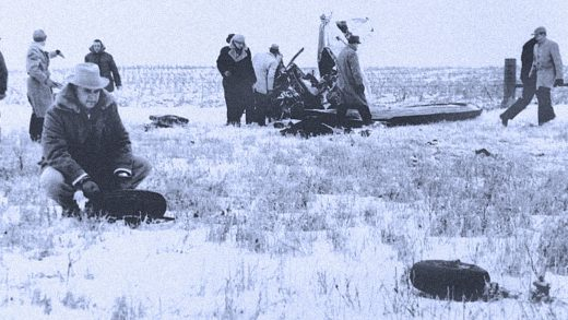 The Iowa crash site - February 3, 1959