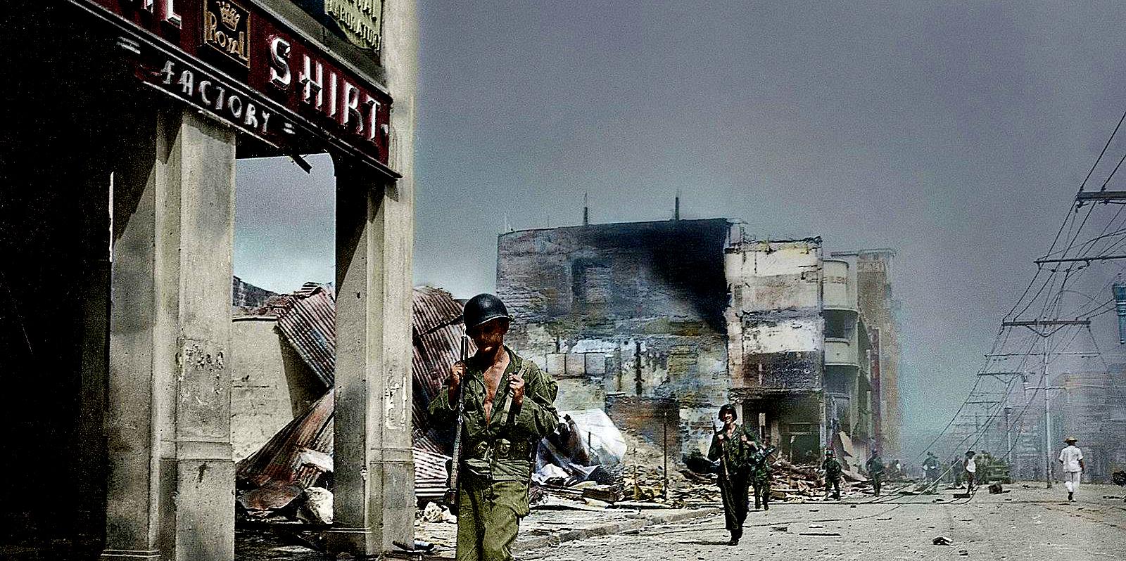 February 3 – March 3, 1945 – Battle Of Manila