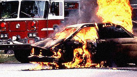 Ford Pinto - crashc scene