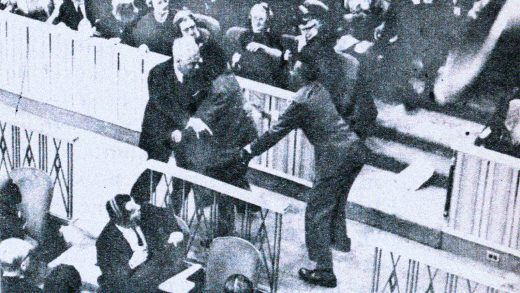 Riot at The UN - February 2, 1961
