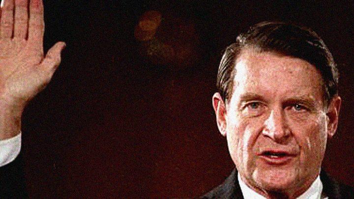William Webster - Director Designate - CIA - 1987