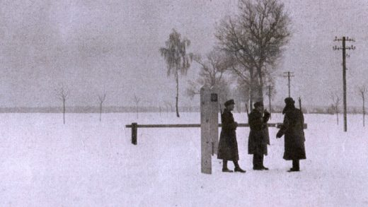 The Finnish Border -- March 1940
