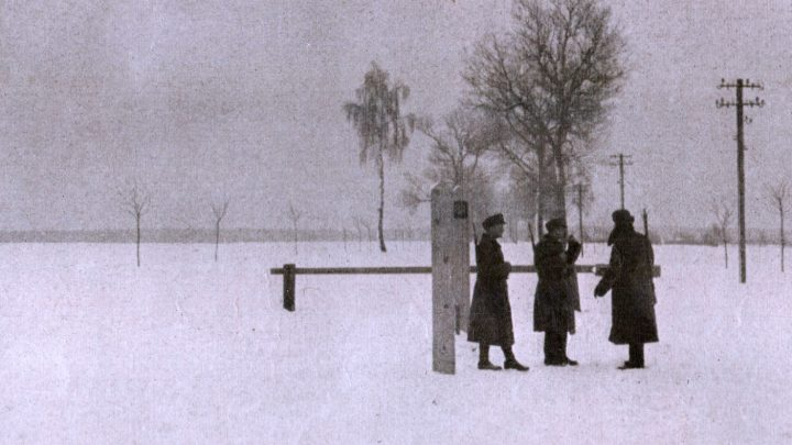 The Finnish Border -- March 1940
