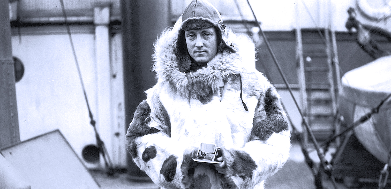 March 15, 1940 – Admiral Richard Byrd – 3rd Arctic Expedition – Past Daily Reference Room