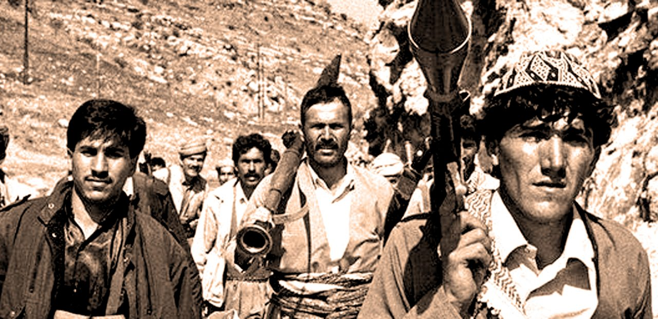 Kurdish Rebels - March 1991 - Photo: Richard Wayman